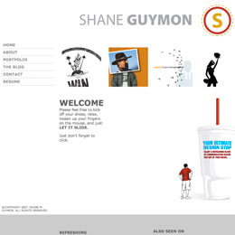 Shane Guymon's Website 2006