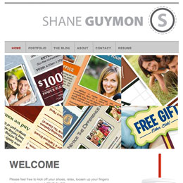 Shane Guymon's Website 2007