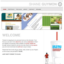 Shane Guymon's Website 2008