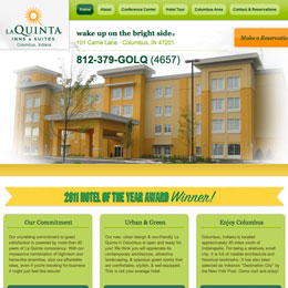 La Quinta Inn Website